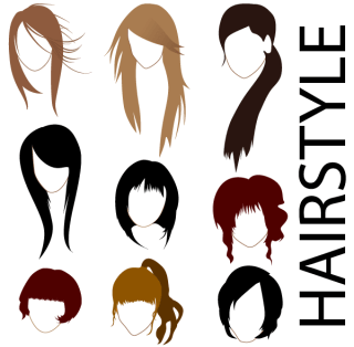 Free Vector Hairstyles