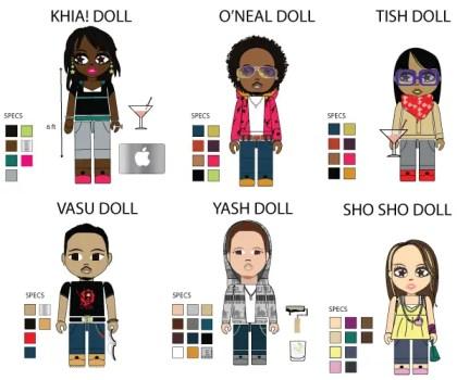 POP Art Series – StarRock Doll Vectors