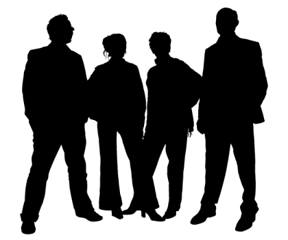 Free Family People Silhouettes Vector