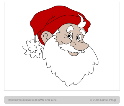 Free Santa Claus Vector Resource