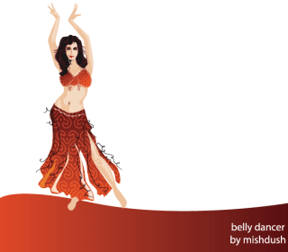 Belly Dancer Free Vector