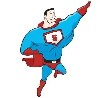 Free Superhero Vector Art