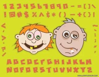 Free Cartoon Character Vector Image