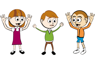 Free Cartoon Children Vector Graphics