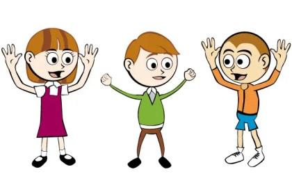 Free Cartoon Children Vector Graphics