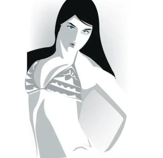 Free Girl Vector Art Eps