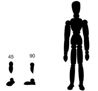 Artist's Model figure Vector