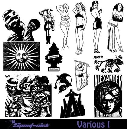 Various People Vector Set-1
