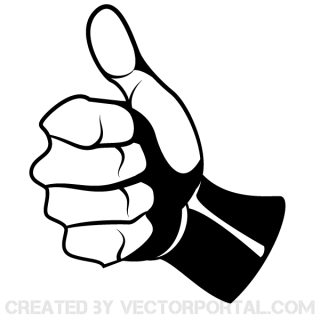 Thumbs Up Vector Art