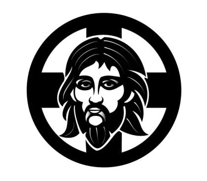 Orthodox Jesus Vector Image