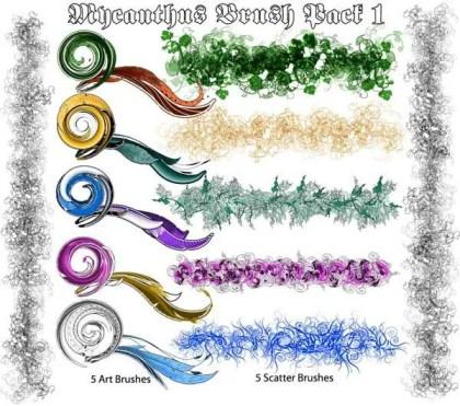 Mycanthus Illustrator Brush Pack
