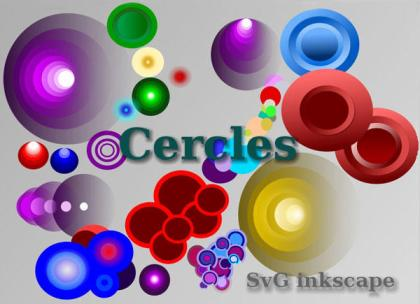 Free Colorful Circles Vector Graphics