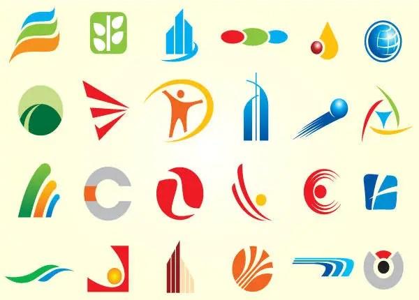 Set of Simplistic Logos