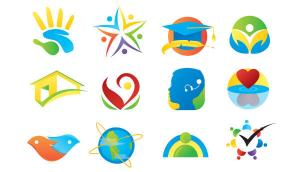 12 Vector Elements for Logo