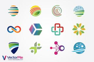 Mixed Logo Design Elements