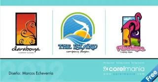 3 Free Logo Vector – Travel