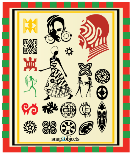 Free Vector African Elements