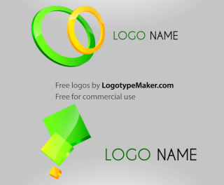 Free 3D Logo Design Vector