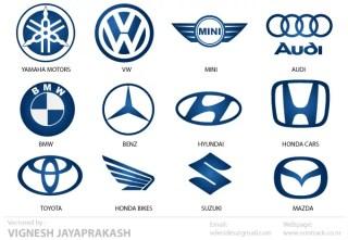 Automotive Logos Free Vector