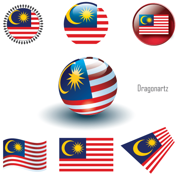 Malaysia Flag Vector Art