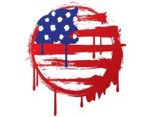 Free American Grunge Flag Vector Art