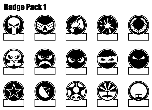 Badge Free Vector Pack