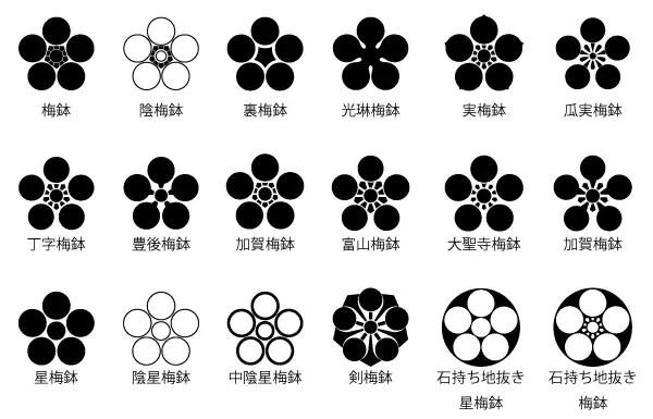 Japanese Family Crest kamon Vector