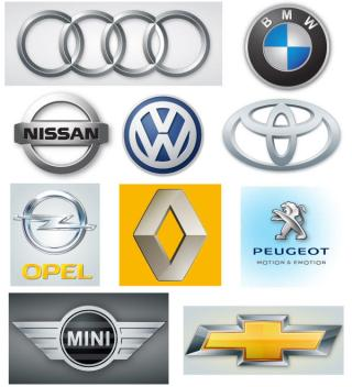 Free Automobile Logos Vector