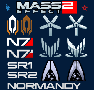 Mass Effect Logo Vector Free