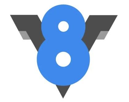 Google V8 Logo Vector