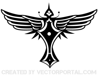 Vector Winged Totem