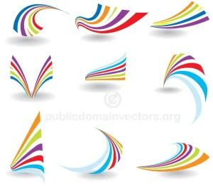 Colorful Abstract Logo Vector Design