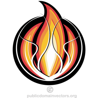 Fire Logo Design Vector