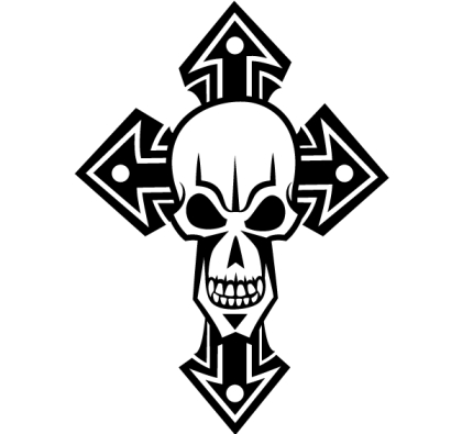 Free Skull Cross Vector Art