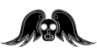 Free Winged Skull Vector Art
