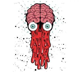 e3273468bd7d Bad Brain – Vector T-shirt Design