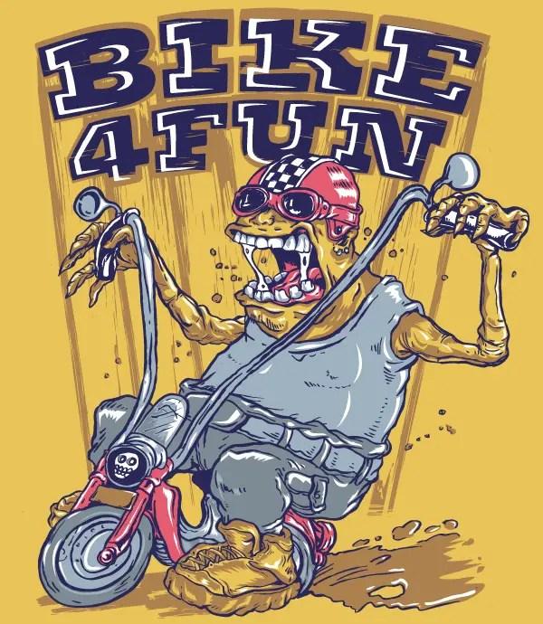 Monster Biker