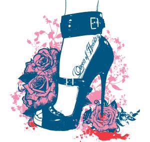 Queen of Hearts Apparel T-Shirt Design