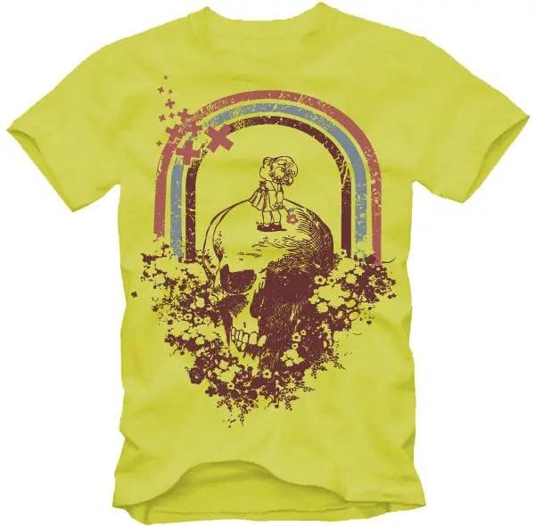 Free Retro T-Shirt Vector Design