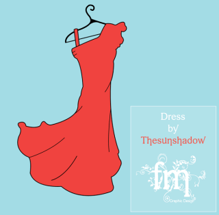 Women's Summer Dress Vector Template Free