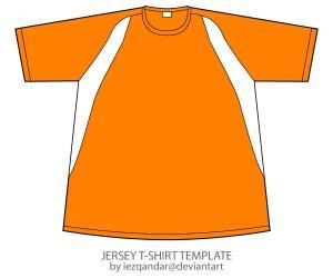 Vector Jersey T-shirt Template