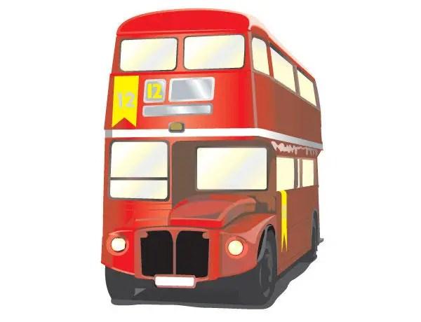 London Bus Vector Free