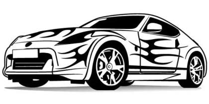 Racing Car Free Vector