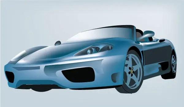 Car Design Free Vector