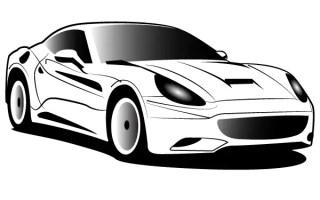 Ferrari Free Vector Art
