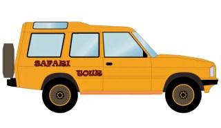 Safari Off Road Car Vector Free