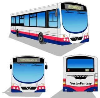 City Bus Free Vector