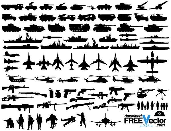 Free Military Vector Clip Art