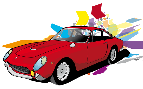 Free Red Car Vector