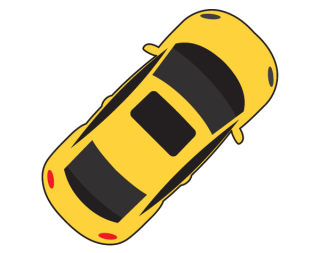 Car Top View Vector Free